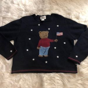 Christopher & Banks Bear Sweater